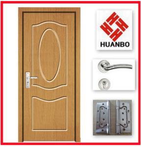 2014 Customized PVC MDF Interior Plain Door Hb-040