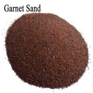 80 Sand Blasting Abrasive Garnet / 80 Mesh Water Jet Cutting Garnet pictures & photos