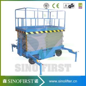 500kg 10m Hydraulic Removable Scissor Lift Platform pictures & photos
