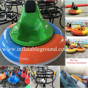 CE Approved Fwulong Electric Inflatable Kids Bumper Car for Sale