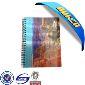 3D Cartoon Printed Cover Spiral Notebook pictures & photos