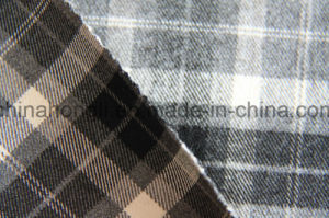 Yarn Dyed Fabric, Brushed T/R Plaid Fabric, 260GSM, 63%Polyester 34%Rayon 3%Spandex pictures & photos
