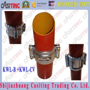 EN877 CAST IRON PIPE FITTING KWL-B Coupling + KWL-CV Clamp