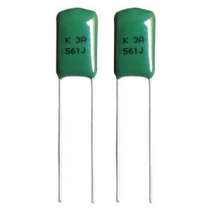 DIP Metallized Polypropylene Film Capacitor Cbb21 pictures & photos