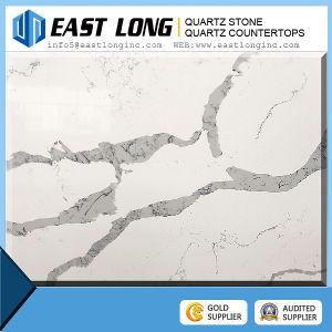 Artificial Calacatta Quartz Stone Countertop Price pictures & photos