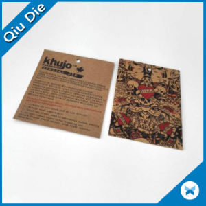 Professional Manufacturergarment Brown Kraft Paper Hangtags in China pictures & photos