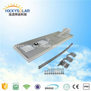 IP68 All in One LED 50W Gaden Solar Street Light (HXXY-ISSL-50) pictures & photos