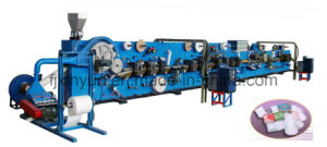 Sanitary Napkin Production Line Dimensional Shielding Type (XY-TO-80DS) pictures & photos