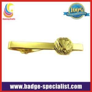 Gold Plated Tie Clip (HS-TC010)