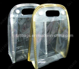 PVC Button Plastic Package Bag pictures & photos