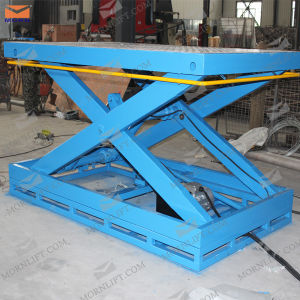 China Manufacturer Cargo Electro Hydraulic Scissor Lift pictures & photos