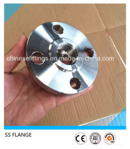 ANSI Ss304 Ss316 Forged Stainless Steel Threaded Flanges pictures & photos