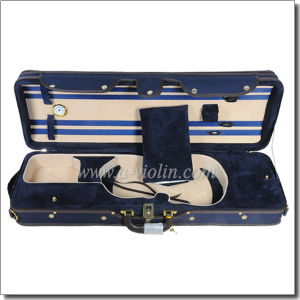 Light Foamed Violin Case Musical Instrument (CSV071) pictures & photos
