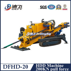 Dfhd-20 Horizontal Drilling Machine for Sale pictures & photos