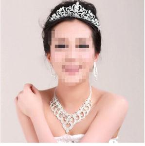Fashion Simple Design Diamond Wedding Tiara T002 pictures & photos