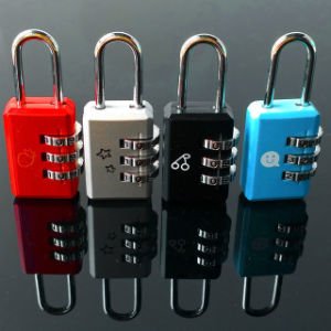 3 Digit Dial Combination Code Padlock for Luggage Bag Drawer pictures & photos