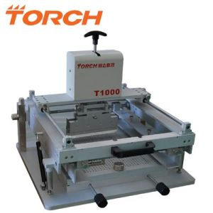 Best Selling Desktop Manual Solder Paste Stencil Printer T1000 pictures & photos