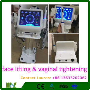 2 in 1 Hifu Face Lifting Vaginal Tightening Machine Mslhf12L