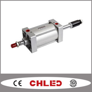 Air Cylinder with Adjustable Stroke Scj Series