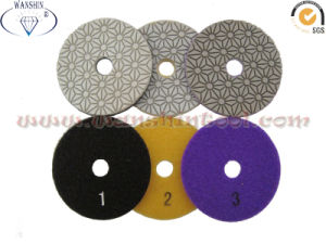 3-Step Wet Polishing Pad for Granite pictures & photos