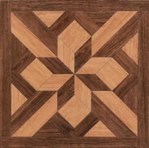 China Wood Design Glazed Ceramic Porcelain Floor Tile