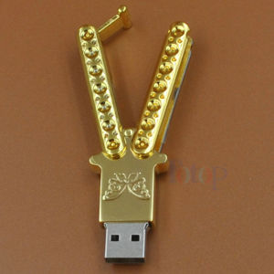 Butterfly Knife USB Stick Metal Logo Engraving pictures & photos