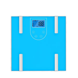 Electronic Body Fat Scale with Large Glass Platform pictures & photos