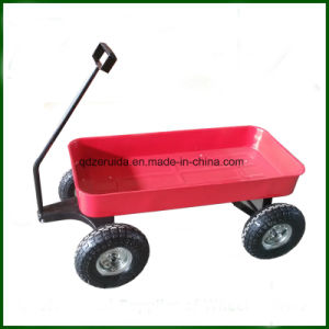 Green Color Kids Toy Cart /Wheel Barrow pictures & photos