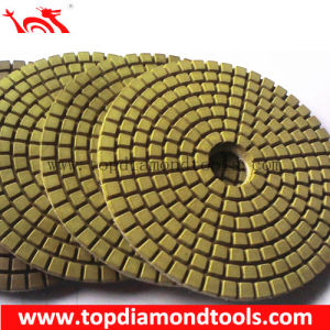 Resin Flexible Polishing Pad for Polishing Concrete pictures & photos