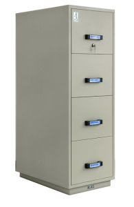 UL Certified Fire Resistant Filing Cabinet, Vertical Cabinet (UL750FRD-II-4001) pictures & photos