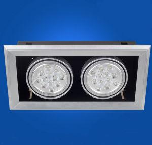 2X12W LED Downlight / LED Recessed Light for Lighting