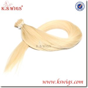 Italian Keratin I-Tip Remy Hair Extensions pictures & photos