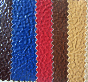 Shiney Embossed PU Leather for Bags and Shoes (YT1509) pictures & photos