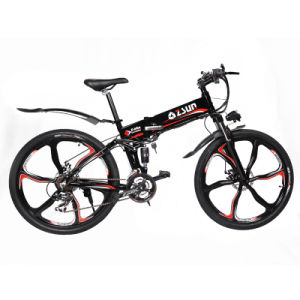 Aluminum Alloy Frame Material and 26 Wheel Size Electric Bike (OKM-889)