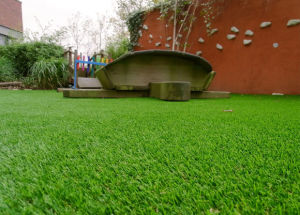 Landscape Artificial Turf for Sand Hill Greening/Seaside Greening/Roadway Greening pictures & photos