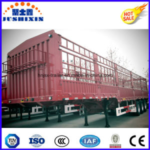 China 3 Axle 40FT Utility Fence Stake Cargo Semi Trailer pictures & photos