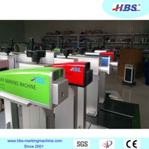 Metal and Plastic Fiber Laser Marking Machine with Raycus Laser Source pictures & photos