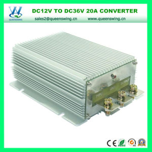 Waterproof 12VDC to 36VDC 20A 720W DC DC Car Power Converter pictures & photos
