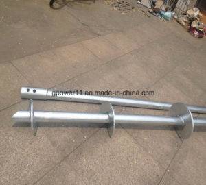 Foundation Tubular Helical Screw Pier pictures & photos