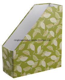 Kraft A4 File Boxes Magazine File Holder pictures & photos