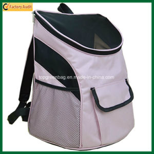 Outside Dog Cat Travel Backpack Shoulder Tote Pet Carrier Bag (TP-PBC003) pictures & photos