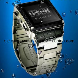 Stainless Steel Waterproof Watch Mobile Phone, Grade IP67 pictures & photos