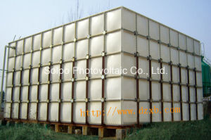 GRP Panel Sectional Fiberglass Plastic Water Tanks with Food Grade Resin Exported