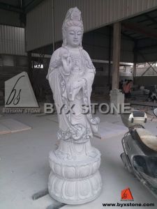 Gorgeous Buddha Statues with Stone Granite Carving Sculpture for Garden pictures & photos