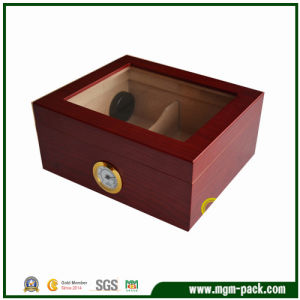 Wooden Package Cigar Box with Glossy Finish pictures & photos