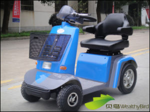 Senior People Electric Mobility Scooter 414L--Blue pictures & photos