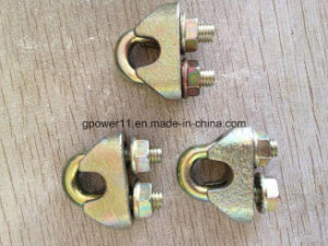 Galvanized DIN1142 Fasten Rope Clamp Wire Rope Clamp pictures & photos