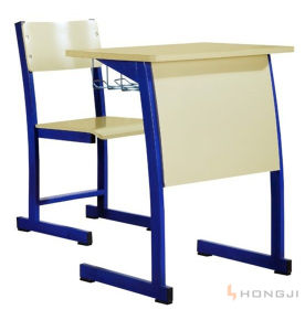 Attractive Student Desk and Chair, Primary School Desk and Chair, School Furniture Sets pictures & photos