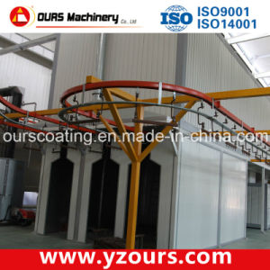 Automatic Powder Coating Line with Best Powder Coating Oven pictures & photos