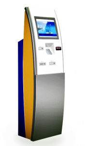 Slim Free Standing Self Service Interactive Touch Screen Kiosk pictures & photos